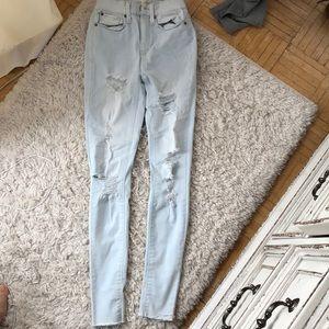Mudd  high rise jean legging